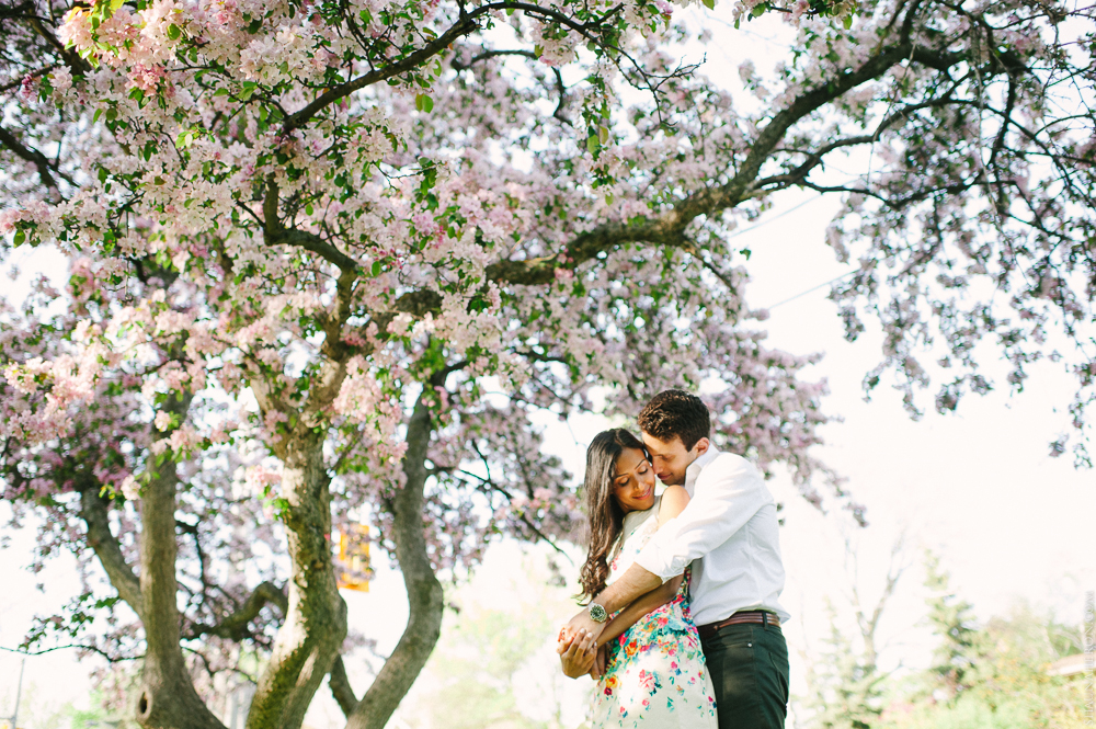 LOVE IS IN THE AIR :. High Park Engagement