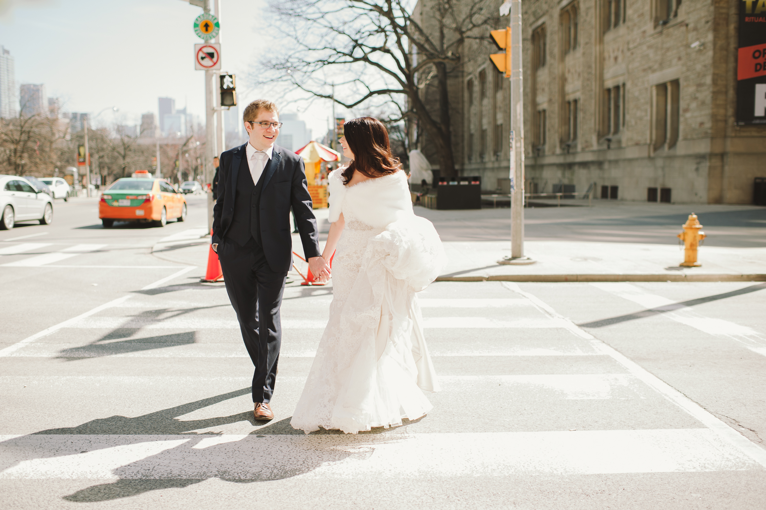Toronto Park Hyatt Jewish Wedding