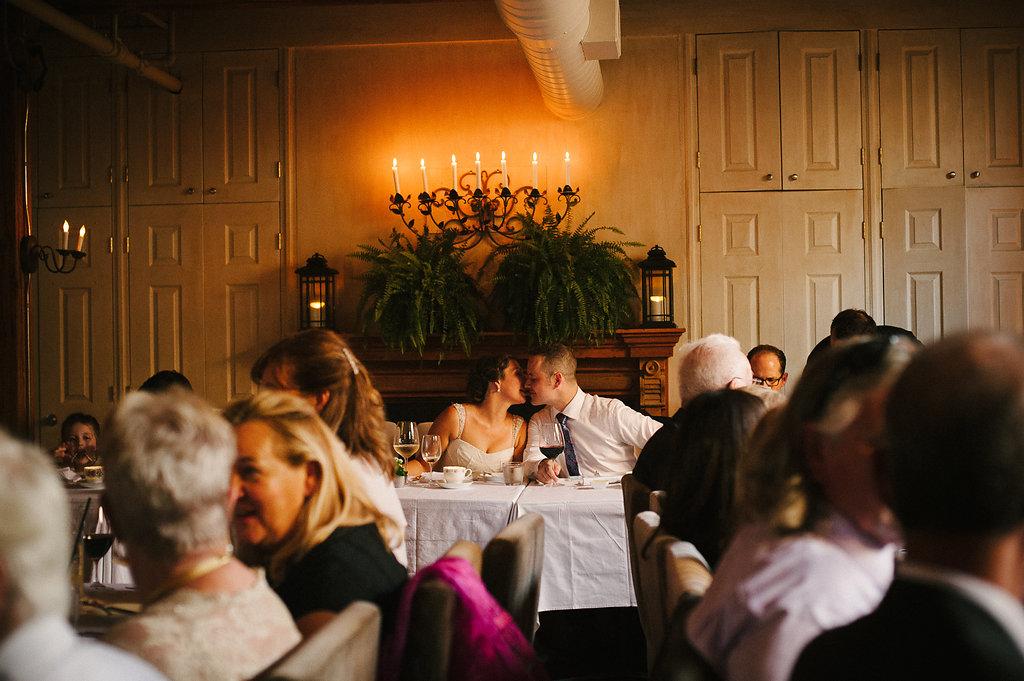 Intimate wedding in Toronto