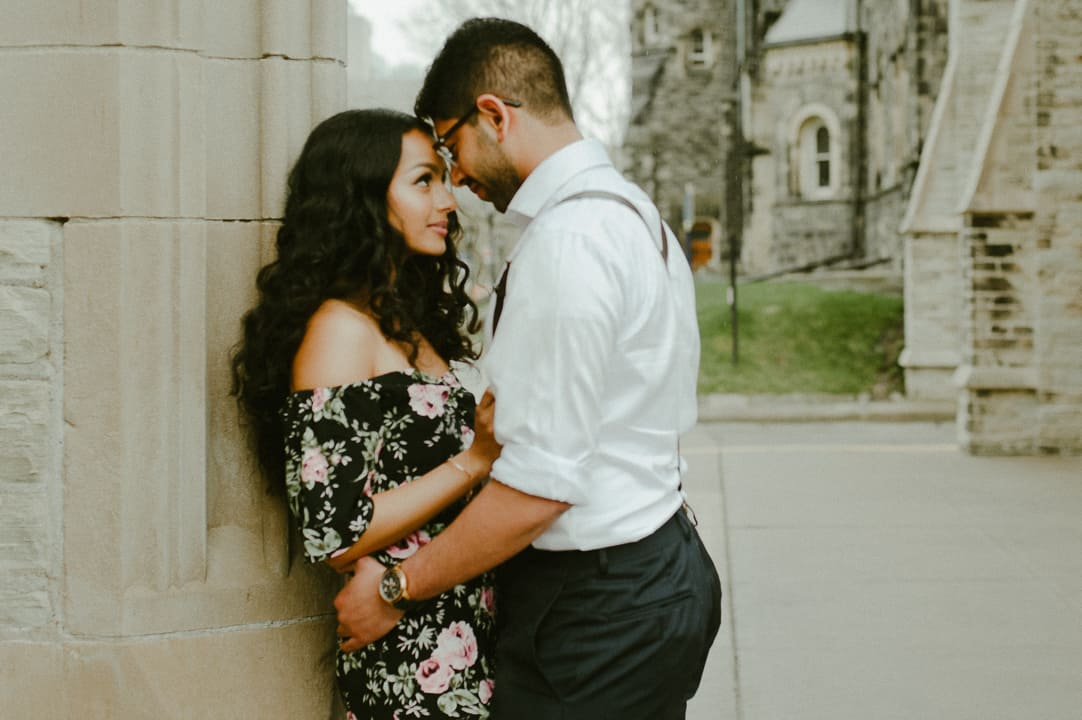 Sneak Peek! // A UofT Engagement Session