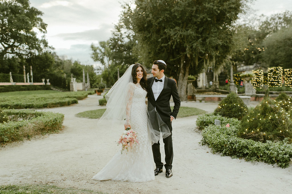 Intimate Jewish Wedding at Vizcaya Museum & Gardens Miami